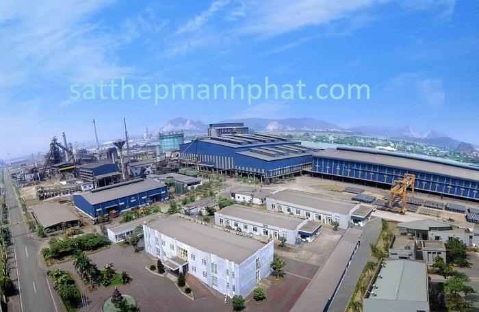 Nhà máy sản xuất sắt thép xây dựng Hòa Phát hôm nay 2018 trên thị trường