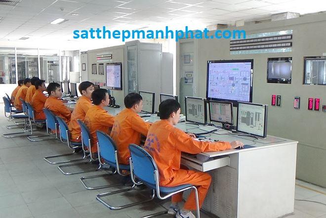 Quy trình sản xuất sắt thép Hòa Phát hôm nay trên thị trường 2018