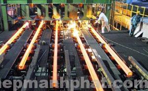Dây chuyền sản xuất sắt thép xây dựng hiện nay tại Mạnh Phát 2018