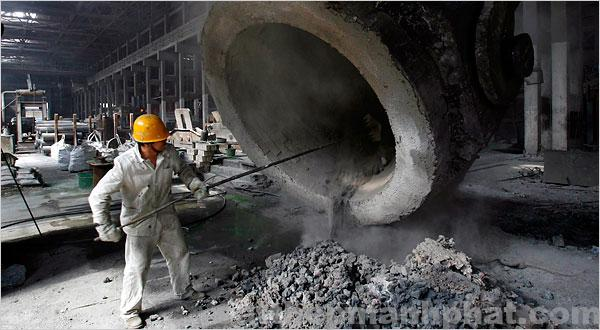 sản xuất thép chất lượng kém