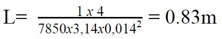 1 Kg thép Hòa Phát phi 14 dài bao nhiêu mét được tính bằng công thức
