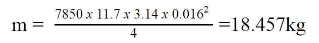 trọng lượng thép hòa phát phi 16